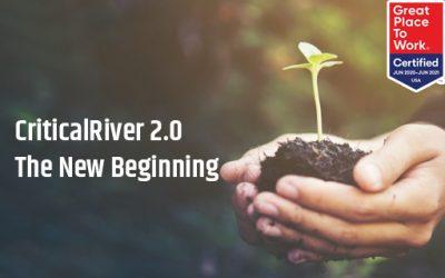 CriticalRiver 2.0 – The New Beginning